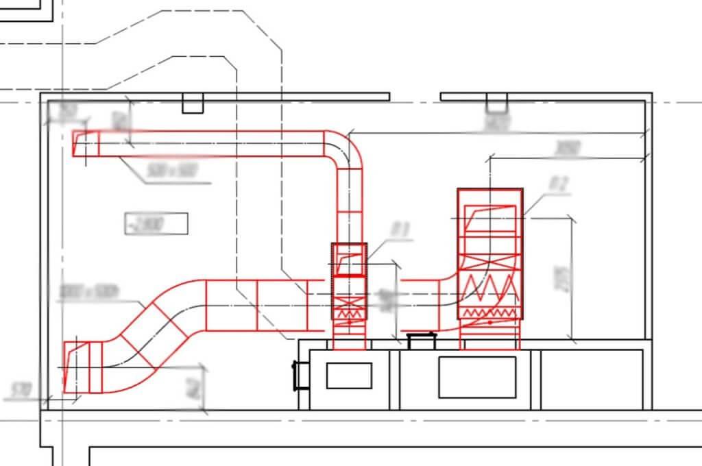 Реконструкция вентиляции