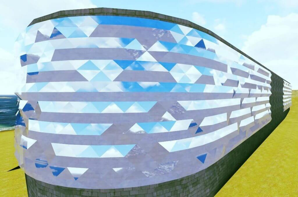 3D-фасад. г. Пермь