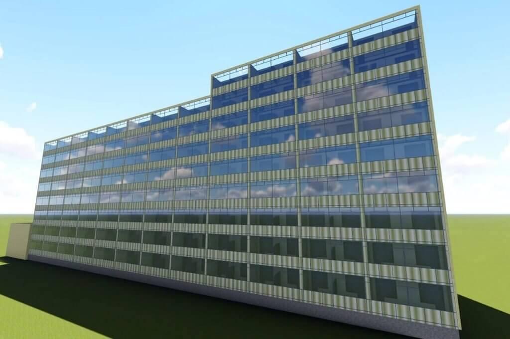 3D-модель реконструкции фасада