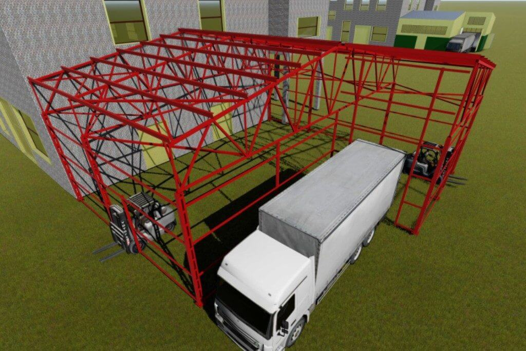 Проект холодного пристроя АС/КМ/КМД